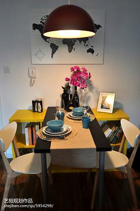 质朴279平宜家样板间餐厅布置图样板间现代简约家装装修案例效果图