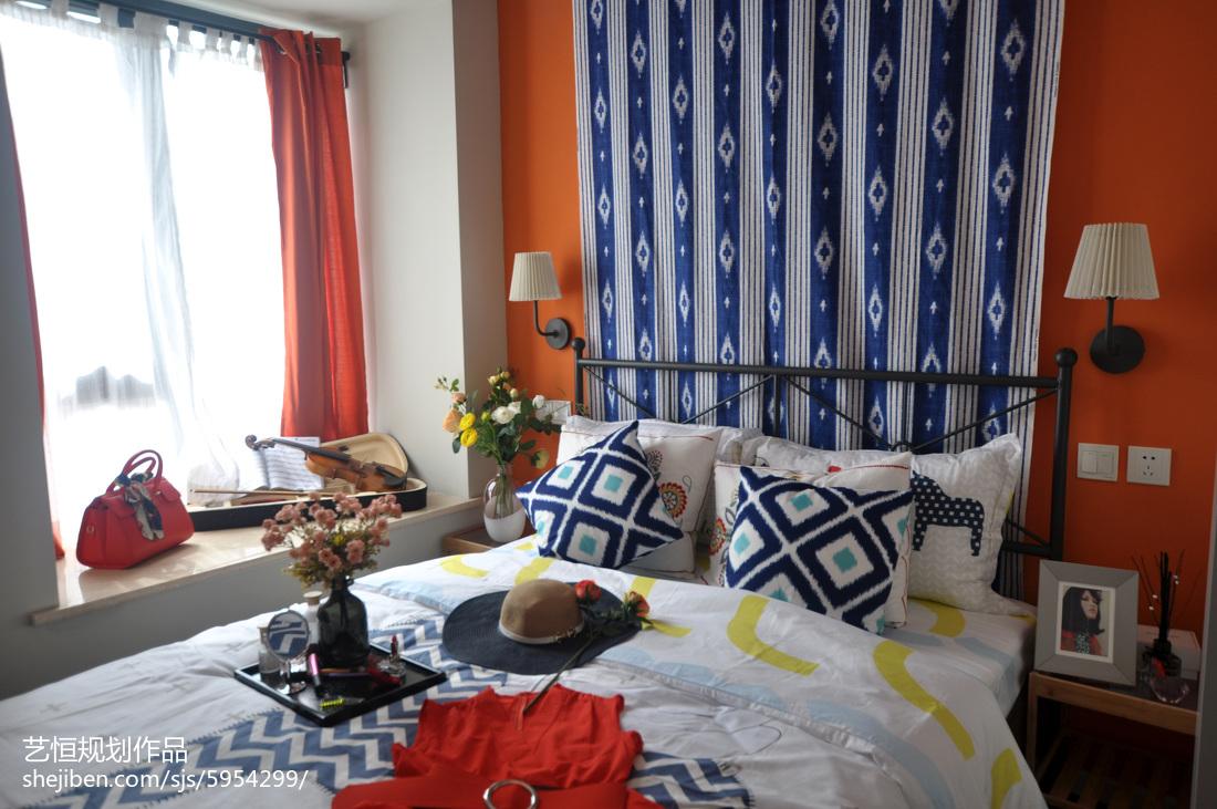 精美卧室宜家效果图片卧室现代简约卧室设计图片赏析