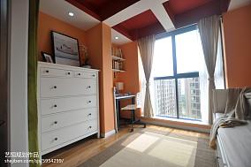 浪漫345平宜家样板间书房实景图片样板间现代简约家装装修案例效果图