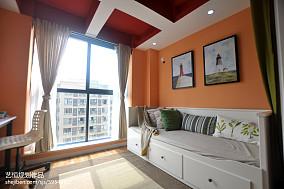 精选宜家阳台装饰图样板间现代简约家装装修案例效果图