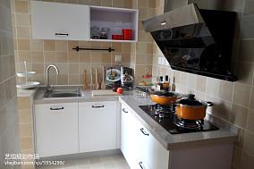 平宜家样板间厨房图片大全样板间现代简约家装装修案例效果图