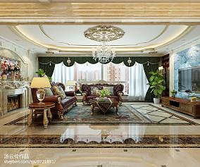 别墅装修设计-金舍装饰-天山九峯290平米装修效果图-欧式风格_2353343
