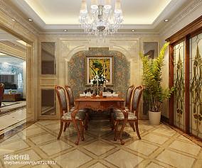 别墅装修设计-金舍装饰-天山九峯290平米装修效果图-欧式风格_2353347