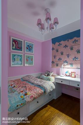 温馨北欧风格儿童房设计图卧室设计图片赏析