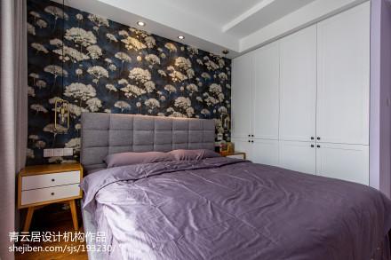 精选北欧二居卧室装修实景图片大全卧室2图