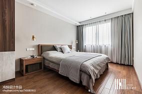 2018大小89平北欧二居卧室装修设计效果图片二居北欧极简家装装修案例效果图