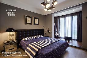 精美120平米中式复式卧室装修效果图片