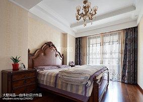 精选97平米三居卧室欧式装修实景图片大全