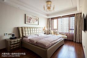 精美面积90平欧式三居卧室效果图片欣赏