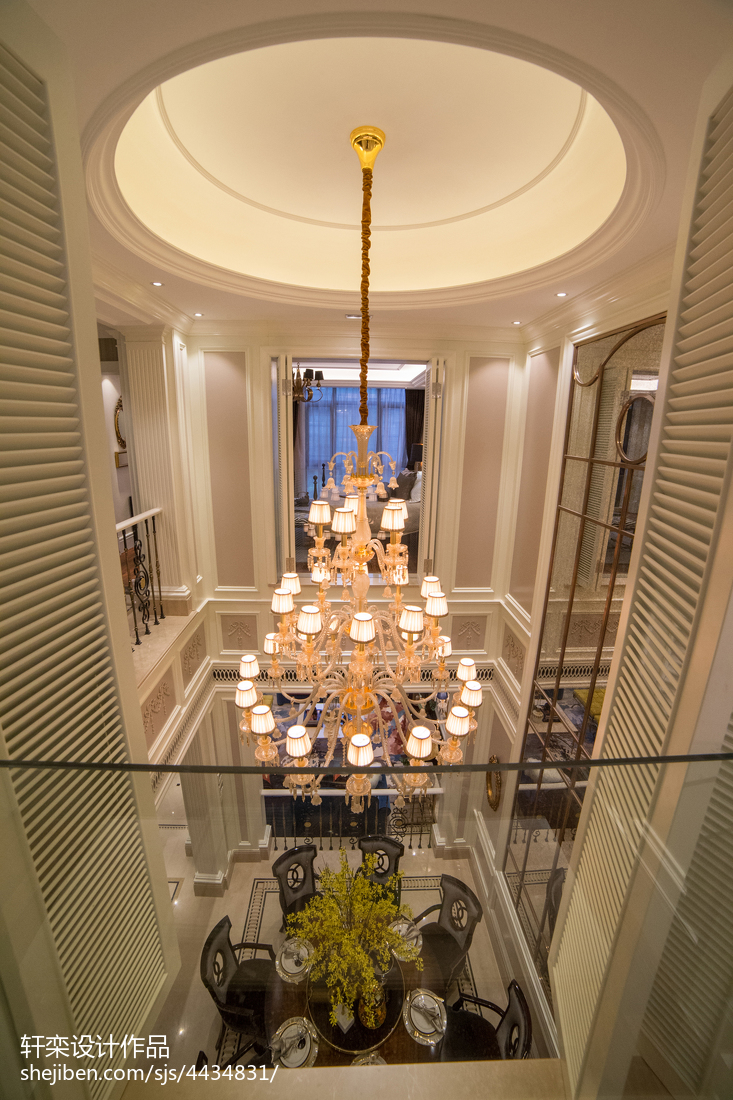欧式别墅吊顶装修大全客厅欧式豪华客厅设计图片赏析