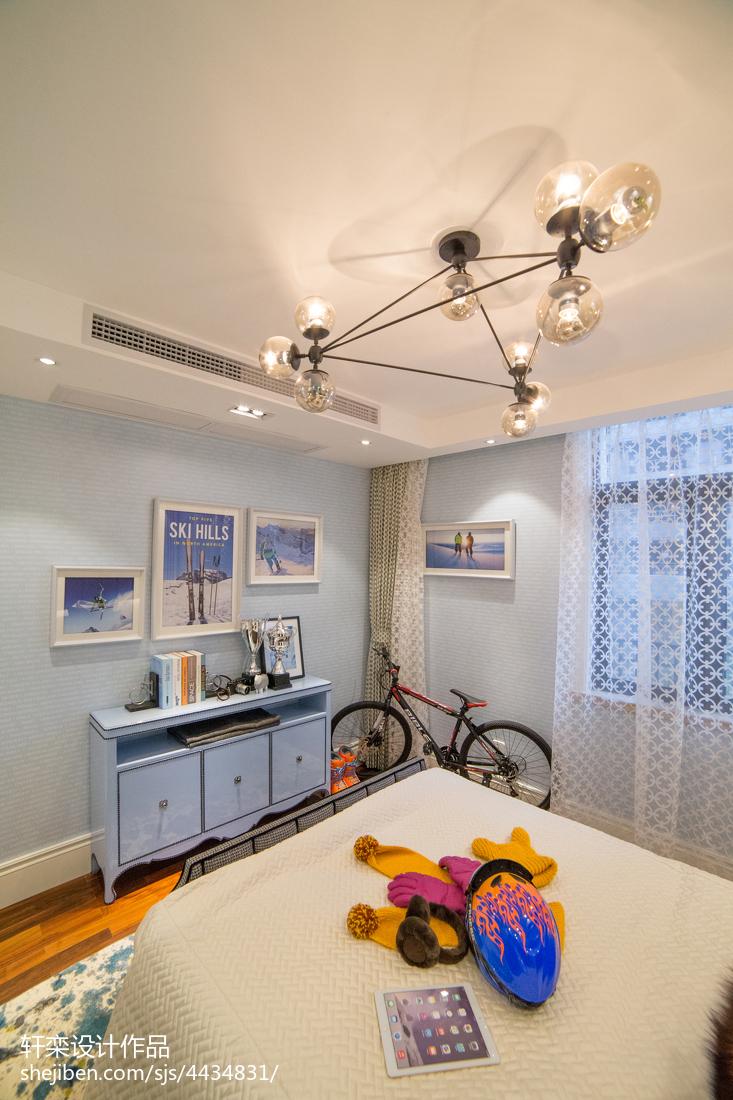 家装欧式儿童房设计效果图卧室欧式豪华卧室设计图片赏析