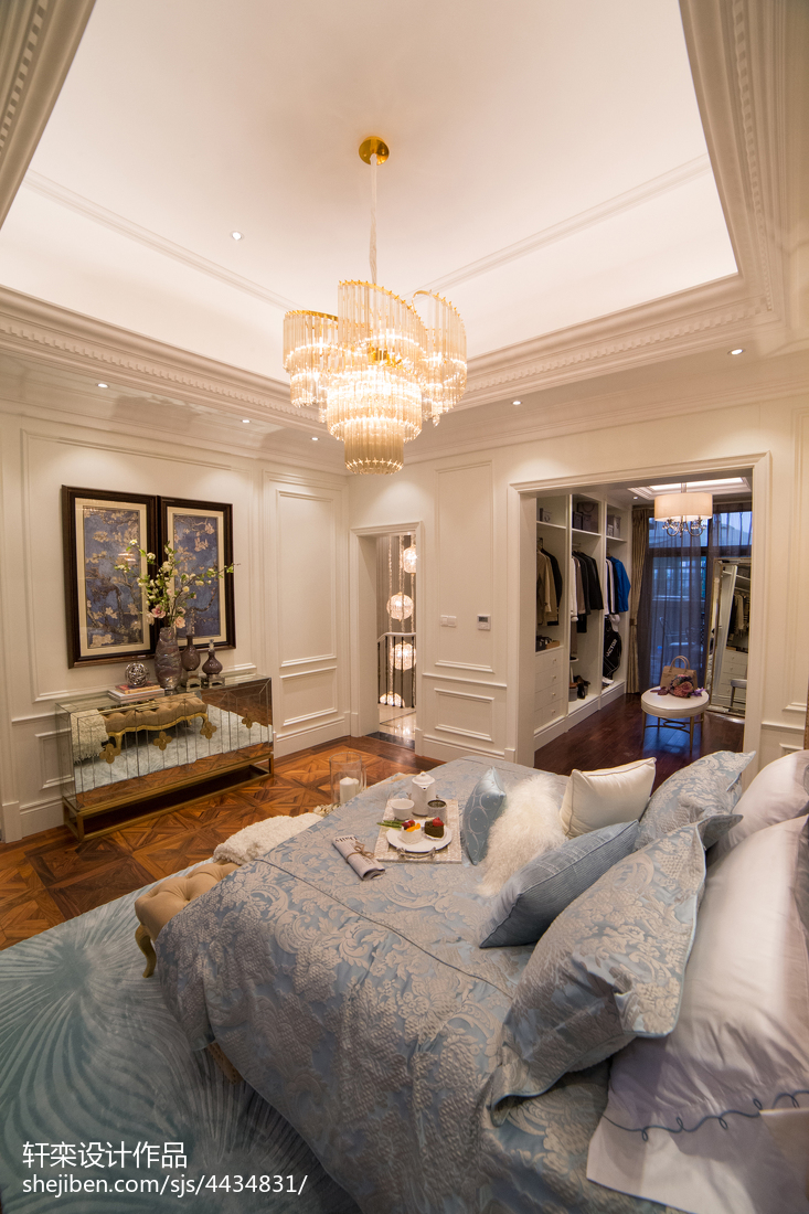 家居欧式风格卧室吊顶设计客厅欧式豪华客厅设计图片赏析