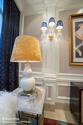 精美111平方欧式别墅客厅装饰图片欣赏