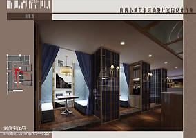简约现代室内卧室图片