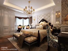 2018欧式复式卧室装修欣赏图片