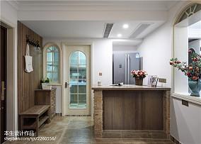 家居美式风格厨房装修效果图复式美式经典家装装修案例效果图