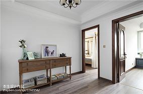 精选面积138平复式卧室美式设计效果图复式美式经典家装装修案例效果图