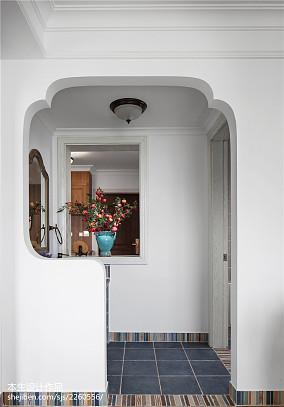 面积126平复式卫生间美式装修图片复式美式经典家装装修案例效果图