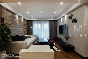 悠雅130平现代二居装饰图片