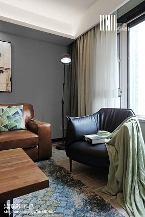 热门94平米三居客厅简约装修效果图片欣赏