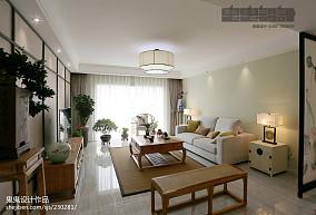 华丽138平中式三居案例图三居中式现代家装装修案例效果图