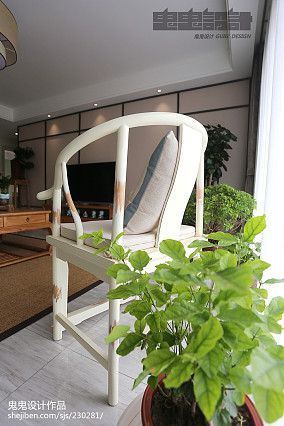 精选大小108平中式三居客厅装修图片家装装修案例效果图