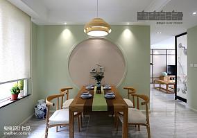 精美109平米三居中式欣赏图片三居中式现代家装装修案例效果图