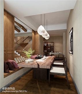 精选132平米中式复式客厅装修图片