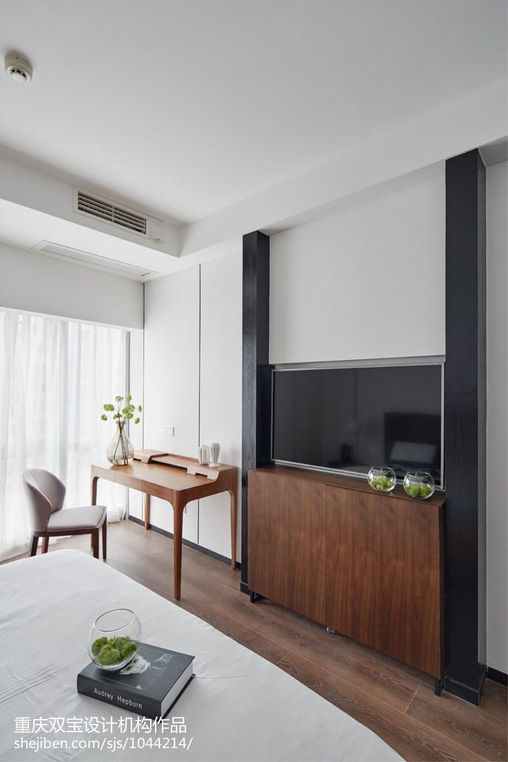 简约风格卧室电视背景墙设计客厅现代简约客厅设计图片赏析