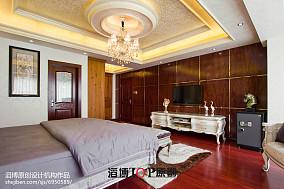 明亮137平欧式四居装修图客厅欧式豪华设计图片赏析