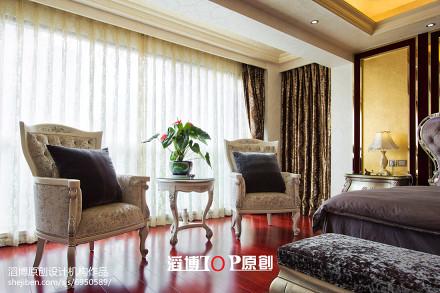 热门面积115平欧式四居休闲区装饰图功能区