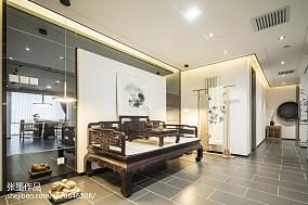 质朴160平中式三居布置图三居中式现代家装装修案例效果图
