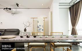 热门面积91平中式三居客厅装饰图片欣赏三居中式现代家装装修案例效果图
