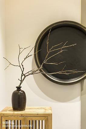 温馨127平中式三居装饰图片三居中式现代家装装修案例效果图