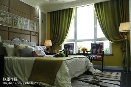 精美卧室欧式装修实景图卧室