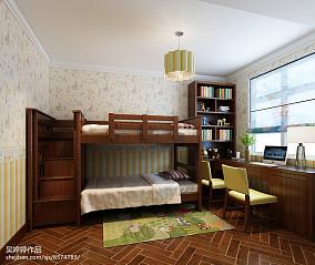 热门混搭三居儿童房装修实景图片大全三居潮流混搭家装装修案例效果图