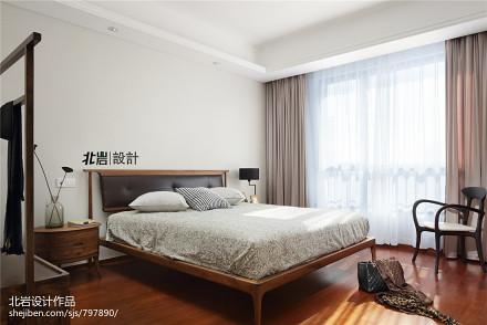优美84平中式三居卧室实景图片