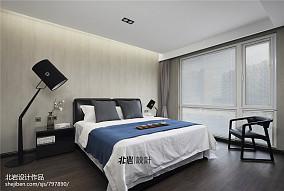 2018面积129平复式卧室现代欣赏图