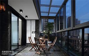 热门143平米现代复式阳台装修效果图