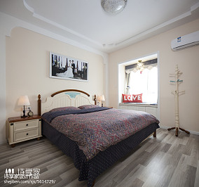 精美99平米三居卧室地中海装饰图片欣赏