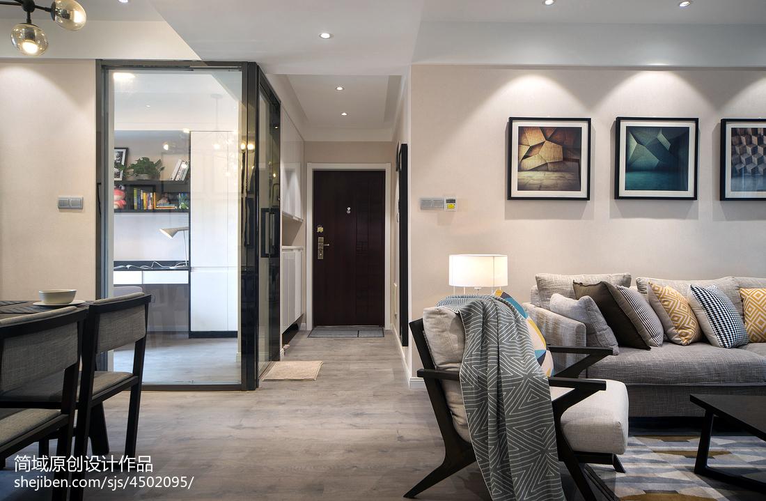 家装现代风格过道装修客厅现代简约客厅设计图片赏析
