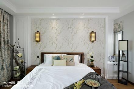 精选117平米混搭别墅卧室欣赏图卧室