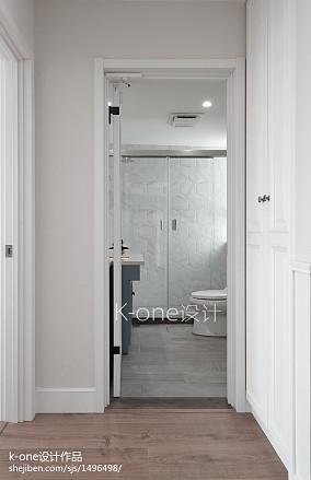 热门面积127平别墅卫生间混搭装饰图片大全