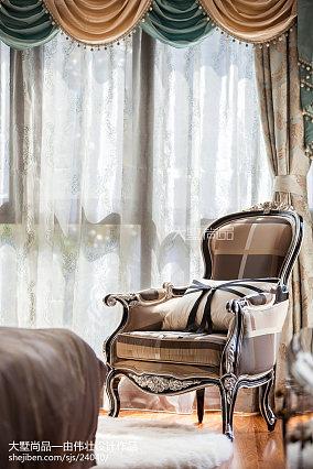 2018面积93平新古典三居卧室欣赏图