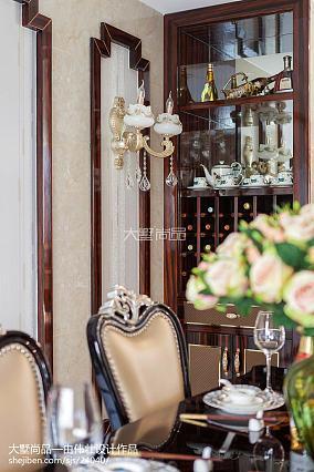 2018精选108平米三居餐厅新古典装修欣赏图