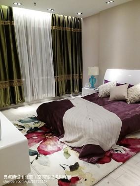 精致86平现代三居卧室设计效果图