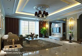 大小104平欧式三居客厅装修图片大全