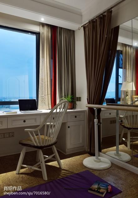 热门面积94平混搭三居休闲区装修设计效果图片功能区