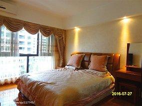 精美面积98平混搭三居卧室效果图片