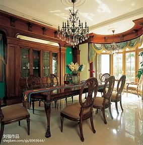 精选141平米混搭别墅餐厅装饰图片欣赏